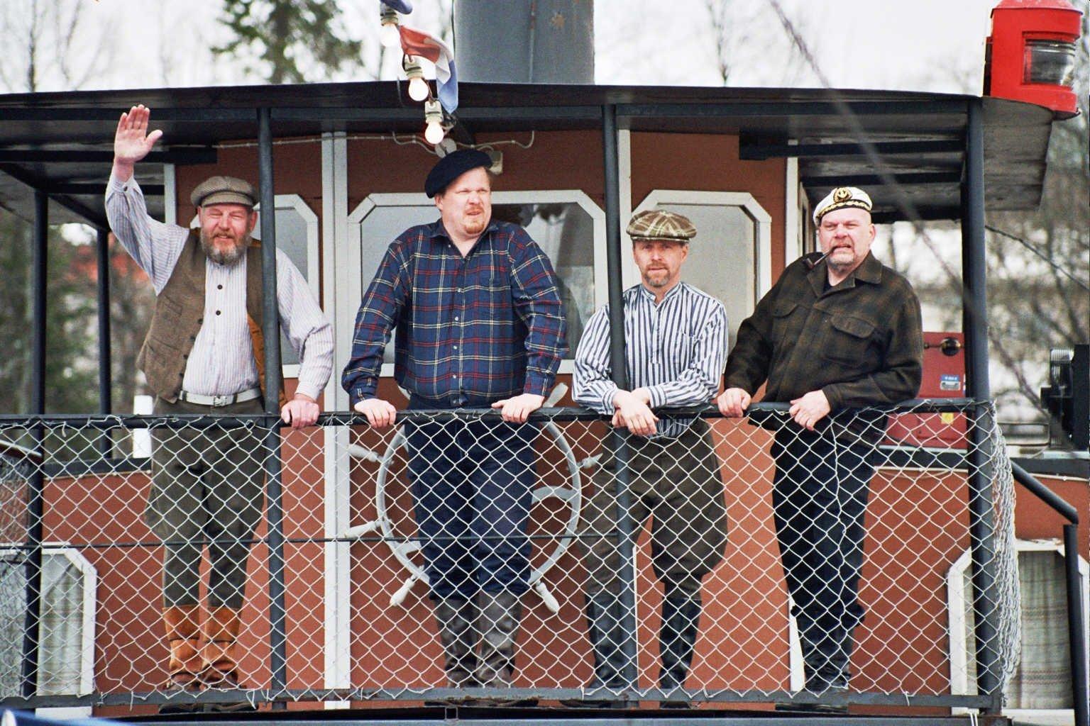 Prinsessa Armaadan miehistö: Jaska, Jukka, Jokke, Keke