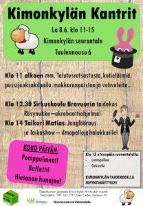 Kimonkylän Kantrit 2019 / Avoimet Kylät päivä