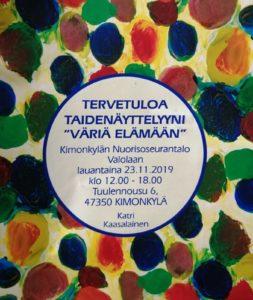 Väriä elämään - Taidenäyttely